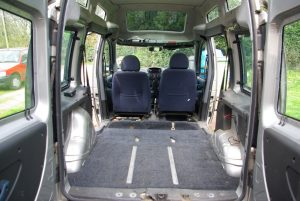 Doblo with the rear seats removed
